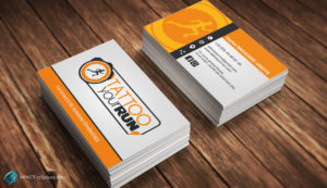 Cartes de visite TattooYourRun