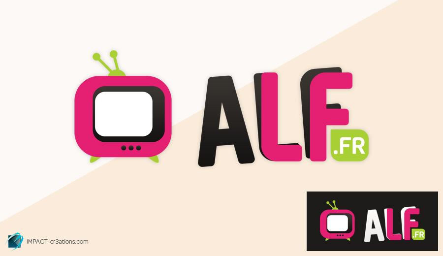 Réalisation du logo ALF.fr