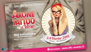 Evénementiel : Axone Tattoo Show