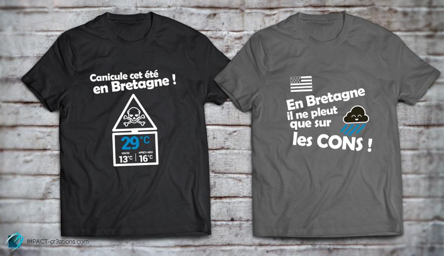 T-shirts personnalisés humoristiques