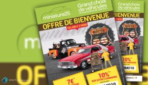 Flyer promotionnel Miniature25