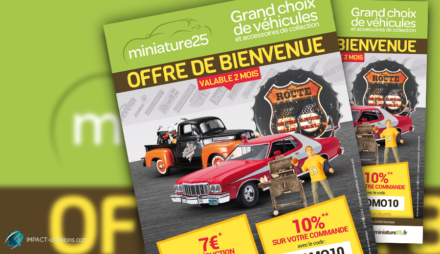 Flyer promotionnel Miniature25