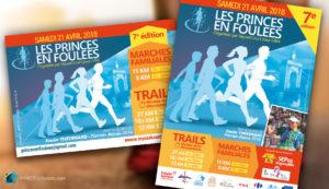 Flyer «Les Princes en Foulées»