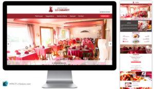 Webdesign : Refonte du site Le Cabaret