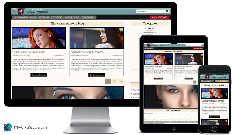Webdesign desktop, tablette & mobile