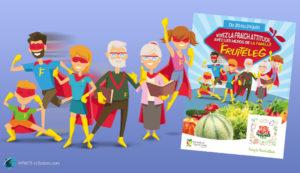 Mascottes famille de super-héros