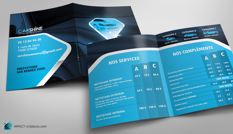 impact-cr3ations-creation-plaquette-carshine-brochure-infographiste-lyon-annecy-geneve