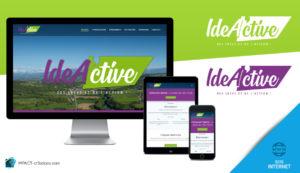 IdeA'ctive : Nouveau logo et site Internet