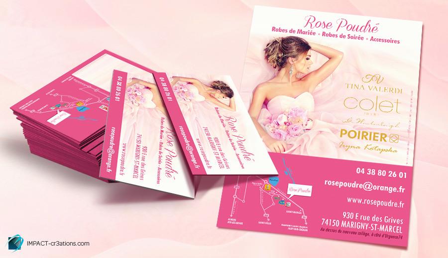 Rose Poudré, la boutique des futures mariées