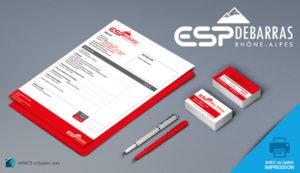 ESP Debarras – Logo et identité graphique