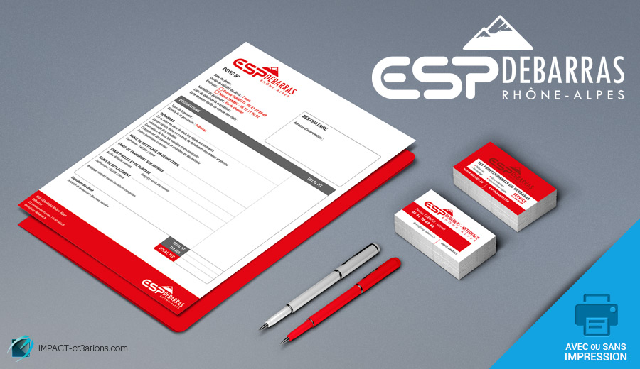 impact-cr3ations-creation-logo-carte-visite-vernis-selectif-esp-debarras-infographiste-chambery-lyon-geneve