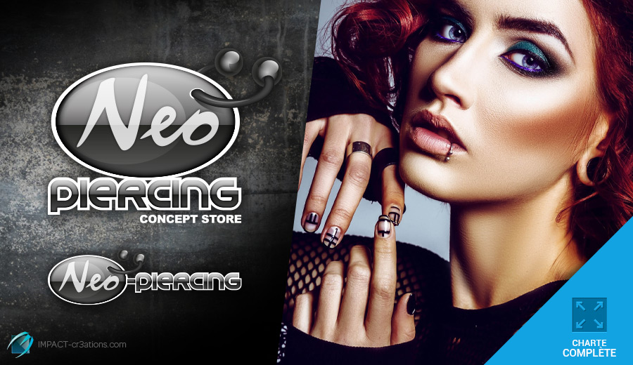 Neo-Piercing logo – Le temple des piercings